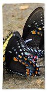 Butterflies By The Buches Bath Towel