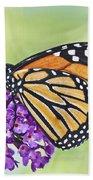 Butterfly Beauty-monarch Bath Towel