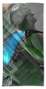 Butterfly Effect Bath Towel