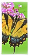 Butterfly In Candyland Bath Towel