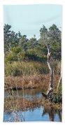 Buxton Salt Marsh - Outer Banks Nc Bath Towel