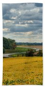 Bypass The Country Fields Bath Towel