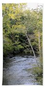 Cahaba River Shadows Bath Towel