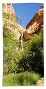 Calf Creek Falls Canyon Bath Towel