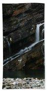 Cameron Falls Waterton Lakes National Park Bath Towel