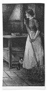 Canada: Daily Life, 1883 Bath Towel