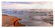 Cannon Beach Painting Bath Towel