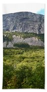 Cannon Cliff From Boise Rock New Hampshire Hand Towel