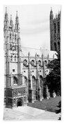 Canterbury Cathedral - England - C 1902 Bath Towel