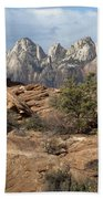 Canyon Trail Overlook Bath Towel