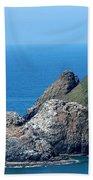 Cape Mears Lighthouse Bath Towel