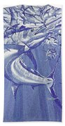 Carey Chen Mens Marlin Shirt Bath Towel
