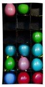 Carnival Balloons Bath Towel