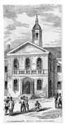 Carpenters Hall, 1855 Bath Towel