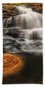 Cascading Swirls Bath Towel