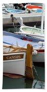 Cassis Harbor Bath Towel