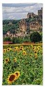 Castle In Dordogne Region France Bath Towel