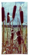 Cat Tails Hand Towel