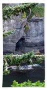 Cave Of The Bay Bath Towel