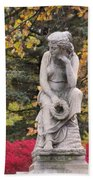 Cemetery Statue 1 Bath Towel