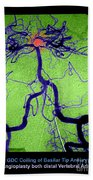 Cerebral Angiogram Bath Towel