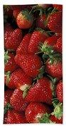 Chandler Strawberries Bath Towel