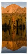 Chaos Crags Reflecting Bath Towel