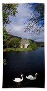 Chapel At Gougane Barra, Co Cork Bath Towel