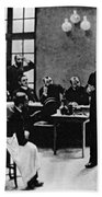 Charcot Demonstrating Hysterical Case Bath Towel