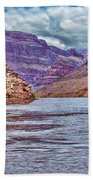 Charting The  Mighty Colorado River Hand Towel