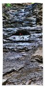 Chasing The Eternal Flame At Chestnut Ridge Park Bath Towel