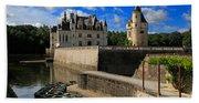 Chateau Chenonceau Loire Valley Bath Towel