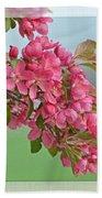 Cherry Blossom Spring Photoart Bath Towel