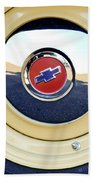 Chevrolet Wheel Emblem Bath Towel