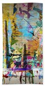 Child's Painting Easel Bath Towel
