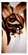 Chocolate Silk Fuchsia II Bath Towel