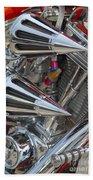 Chopper Engine-2 Bath Towel