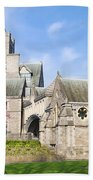 Christ Church Cathedral In Dublin Hand Towel