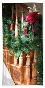 Christmas Garland Bath Towel
