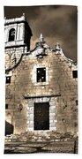 Church Of The Virgen De La Ermitana - Peniscola  Bath Towel