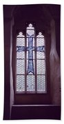 Church Stained Glass Window 2 Bath Towel