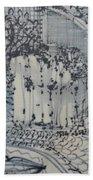 City Doodle Bath Towel