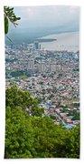 City Of Port Of Spain Trinidad 3 Bath Towel