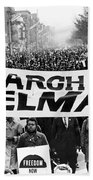 Civil Rights March, 1965 Bath Towel