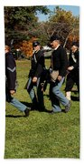 Civil Soldiers March Bath Towel