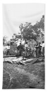 Civil War Burial, 1864 Bath Towel