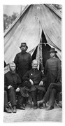 Civil War: Chaplains, 1864 Bath Towel