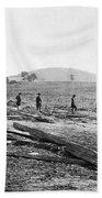 Civil War: Graves, 1862 Bath Towel