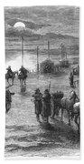 Civil War: Potomac Bridge Bath Towel