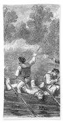 Civil War: Potomac River Bath Towel